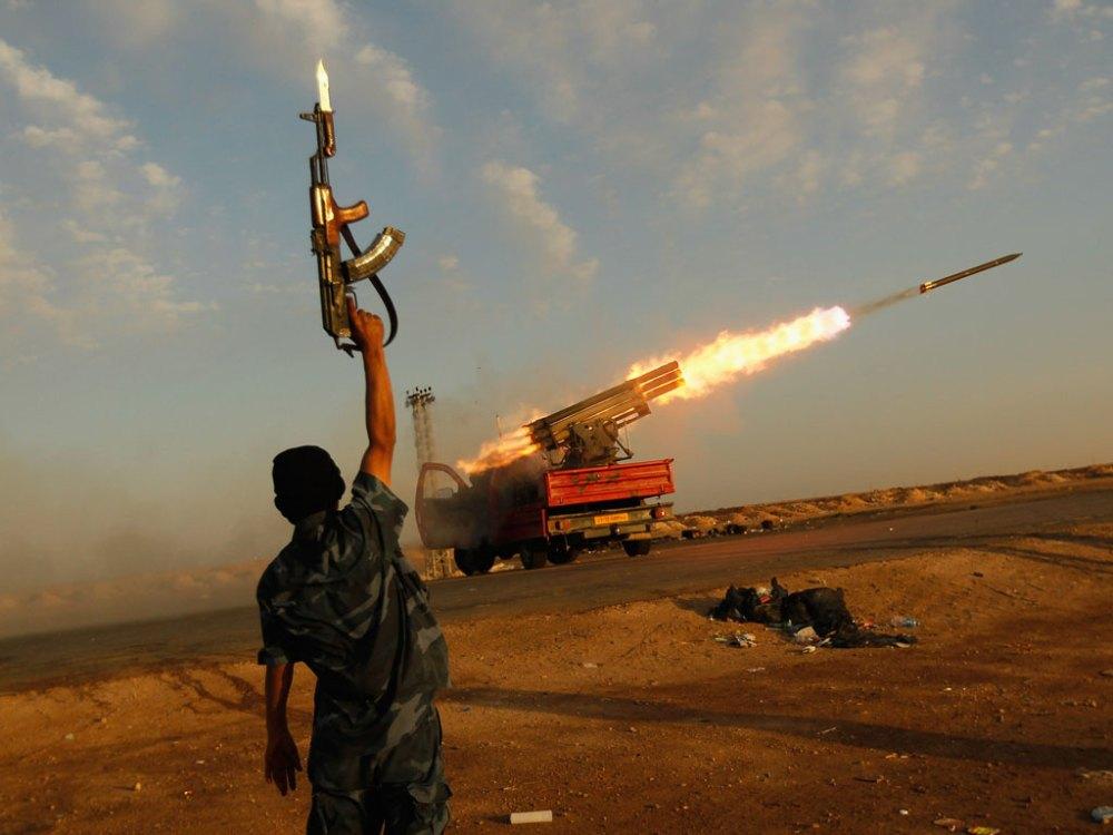 Libya Rebellion - Hondros