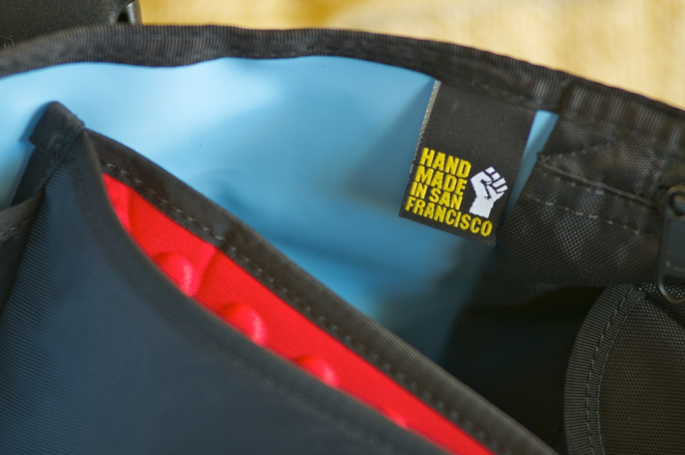 The custom bags get this tag...