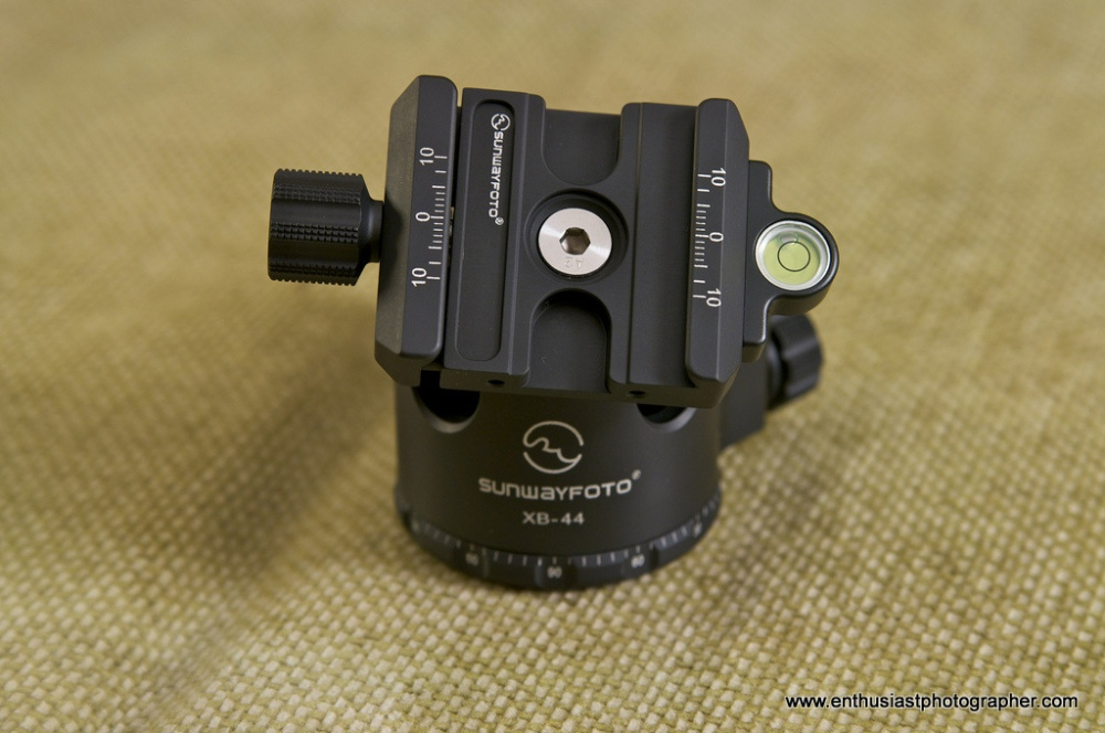 Sunwayfoto XB-44 Ball Head Review (3/6)