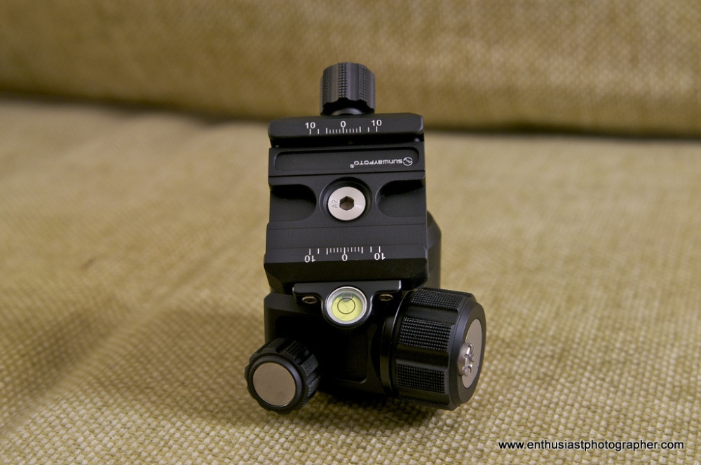 Sunwayfoto XB-44 Ball Head Review (4/6)
