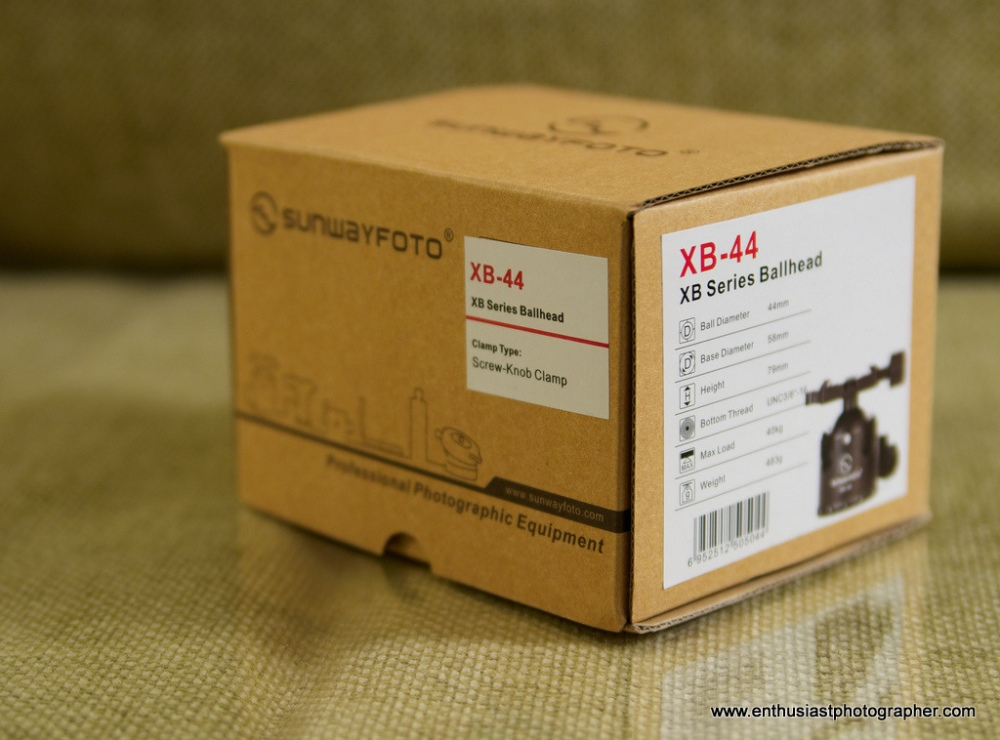 Sunwayfoto XB-44 Ball Head Review (1/6)