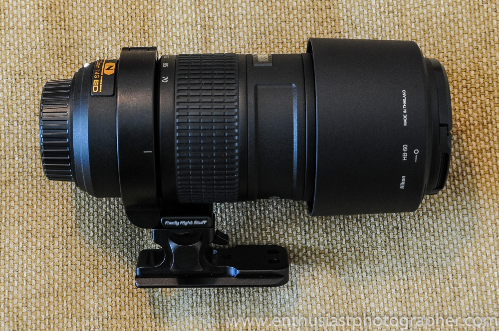 Really Right Stuff LC-A12 Collar Review (Nikon 70-200 f/4) (6/6)