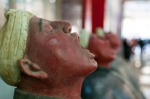 More sculptures from 798 in Beijing